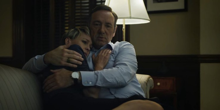 Aside from their (kind of) open marriage, they do love each other. Here was Francis, consoling his wife about her nightmare. If there's one person that Francis could empathize with, I think it's Claire. Wait.. if it's kind of an open marriage, then what they had wasn't really an affair, right? Hmm...